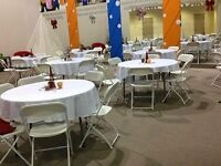 Chairs, Tables, food warmers ,Speakers,Cutlery and More....!!