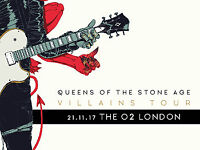 Queens of the Stone Age - 2x tickets - London O2 Arena - Tuesday 21st Nov