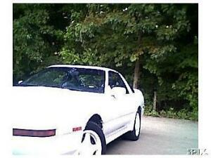 1992 Toyota Supra Turbo Targa 5 Speed Convertible RWD 2 owner
