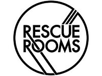 Full Time Bar Staff Required - Rescue Rooms