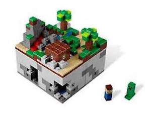 """Lego Minecraft Microworld: """"The Forest"""" ~ 100% complete"""