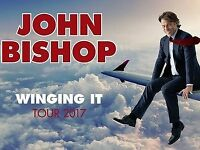 JOHN BISHOP CONCERT TICKETS - SSE ARENA BELFAST - THURSDAY 5TH OCTOBER 2017