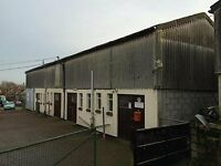 light industrial unit, workshop, disused barn, any disused space from 50m2 able to pay upto £6000pa