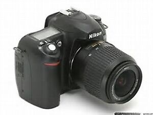 USED-Nikon D50 camera body only