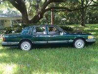 1997 Special Edition Jack Nicklaus Lincoln Town Car