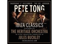 Four tickets to Pete Tong Ibiza Classics at the O2