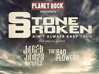 2 x Stone Broken Tickets @ Garage Glasgow 26th February 2018