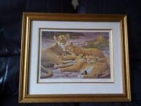 Mothers Pride (lions print)