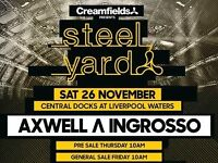Axwell & Ingrosso - The Steel Yard Tickets x 2 £120.00 for pair