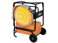 New VAL 6 KBE1S Industrial Diesel/Kerosene Portable Radiant Infrared Blow Heater