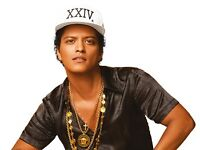 4 BRUNO MARS STANDING TICKETS - SHEFFIELD ARENA - SAT 6TH MAY 17
