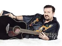 David Brent - Foregone Conclusion at Bournemouth International Centre 15/12/2016 (4x tickets)