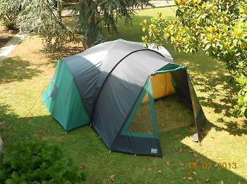 Lichfield Albatross 4 Vis A Vis 2 Bedroom 4 Person Tent