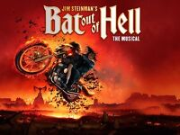 Jim Steinman's Bat out of Hell The Musical-2 tickets
