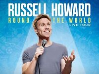Russell Howard Round the World Tour Motorpoint Arena Nottingham 26 March 17 x2 tickets