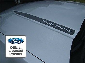 2010 2012 Ford Mustang Hood Spear Cowl Stripe Graphic Decal Sticker Package Ssc