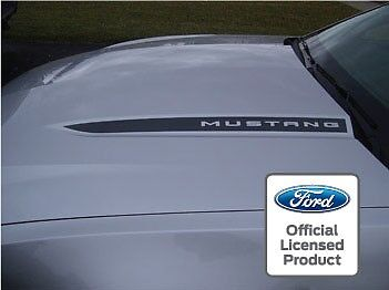 Ford Mustang Hood Spear Cowl Stripe Graphic Decal Sticker Package   Ssa