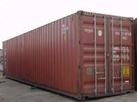 Used Cargoworthy Containers,storage for sale in Kingston