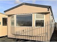 STATIC CARAVAN FOR SALE - 3 BEDROOMS-DOUBLE GLAZED& CENTRAL HEATED
