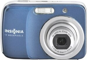 Insignia NS-DSC1112 12MP 4x Optical Zoom 2.7in LCD Display