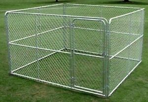 10' x 20' x 6' Chain Link Dog Kennel EXCELLENT Only Used 1 Month