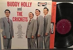 Two Buddy Holly albums-Buddy Holly Story/B. Holly & The Crickets Kitchener / Waterloo Kitchener Area image 2