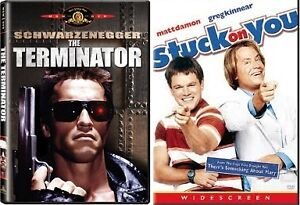 The Terminator and Stuck on You DVD Pack
