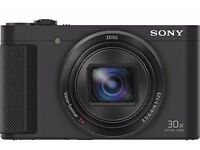 Sony Cybershot HX80 Digital Camera w/ Flip Screen + 128GB Memory Card