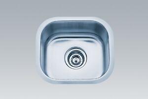 bar sink stainless steel under mount bar sink 15x13