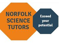 Science Tutor GCSE and A-Level