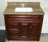 Beautiful solid wood vanity Spring Promotions!!!