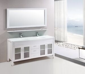 "**WOW** MARBAYA 72"" BATHROOM VANITY $1399"