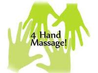 FOUR HANDED MASSAGE