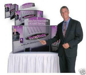Showstyle - Tabletop Tradeshow Display Exhibit New
