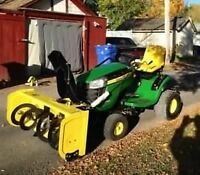John Deere D140 - Excellent condition -snowblower too