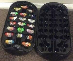 21 Assorted Mighty Beanz with Star Wars Darth Vader Case Franklin Huon Valley Preview