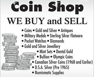 Looking to sell a Coin and or Paper Money Collection? - Buying!