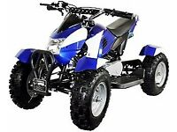 New 49cc zipper quad bikes free uk delivery