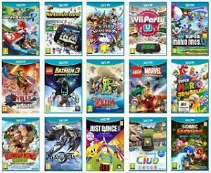 Wanted Wii U games