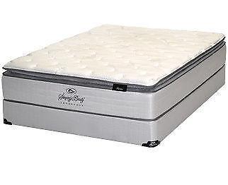 King Pillow Top Mattress Set Ebay