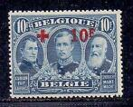 Belgique 1918 - Red Cross with red overprint - OBP / COB 150