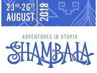 SHAMBALA ticket with BIRMINGHAM coach