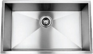 16 gauge high quality Hand crafted stainless steel sinks on sale