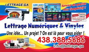 Lettrage Stylisé - Graphisme - Imprimerie - Promotion
