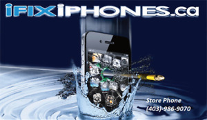 iFixiPhones.ca  Red Deers #1 choice for cellular repair!
