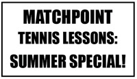 Child & Adult Tennis Lessons! Only $25/hr