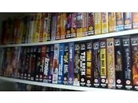 WWF VHS COLLECTION £1 EACH!