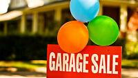 SUNDAY HUGE GARAGE SALE