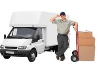URGENT SHORT NOTICE NATIONWIDE MAN&LUTON VAN HOUSE/OFFICE REMOVAL PIANO/BIKE/DUMP/RUBBISH MOVERS