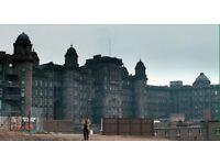 I'm making a film in Glasgow